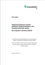 Optimized pathways towards ambitious climate protection in the European electricity system (EU Long-term scenarios 2050 II)